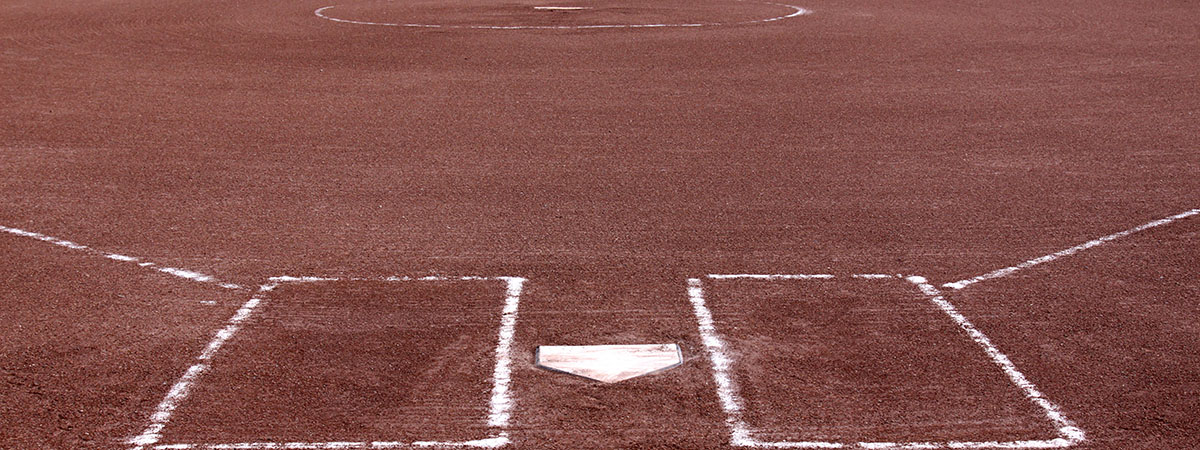 a softball field